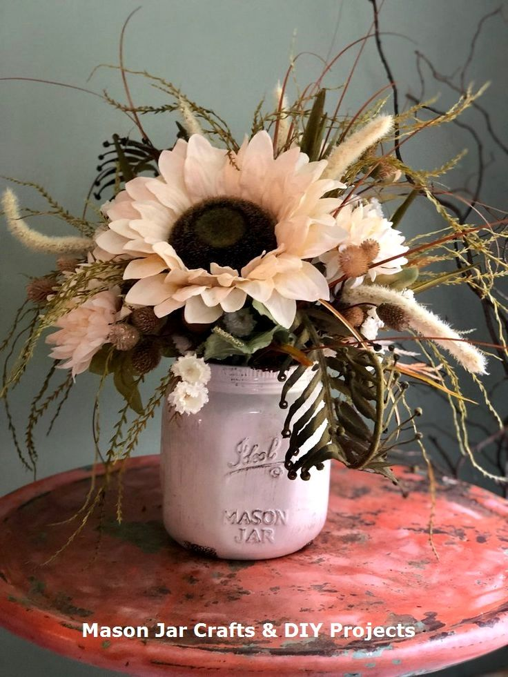 New Creative Mason Jar Diy Ideas Diyideas Mason Jars Blumen