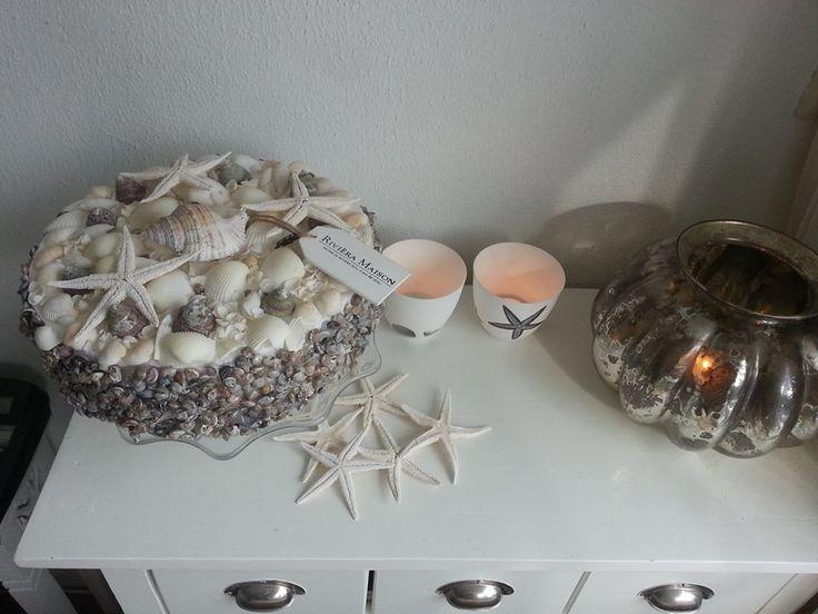 taart van schelpen