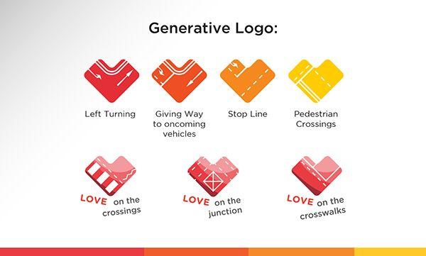 Branding: Love on The Road on Behance