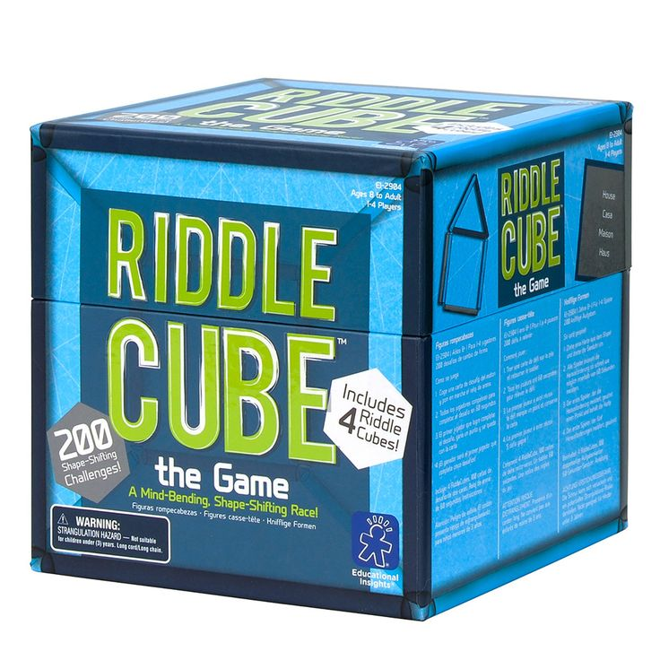 Riddle Cube The Game