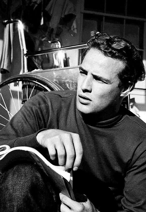 Marlon Brando, 1949, photo by Ed Clark