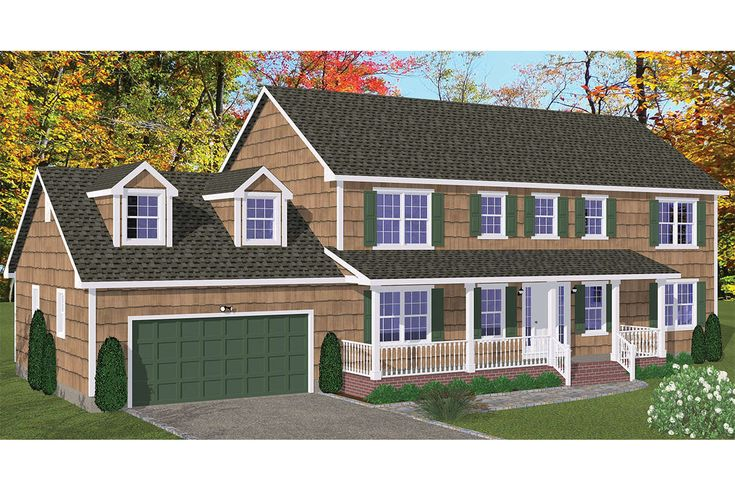 House plan 52600058 colonial plan 2648 square feet 5