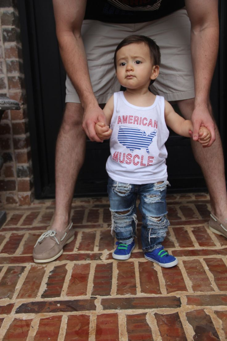 American Muscle Tank+Stripes Kids Tank, 4th of July shirt, Flag shirt, Trendy kids clothes, Memorial Day Shirt, toddler shirt, Flag Shirt by LittleNuggetApparel on Etsy https://www.etsy.com/listing/234578889/american-muscle-tankstripes-kids-tank