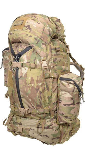 CARSON MOUNTAIN PACK - A classic top-loading pack designed and built specifically for cold-weather missions.