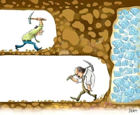 Μην εγκαταλείπετε την προσπάθεια!