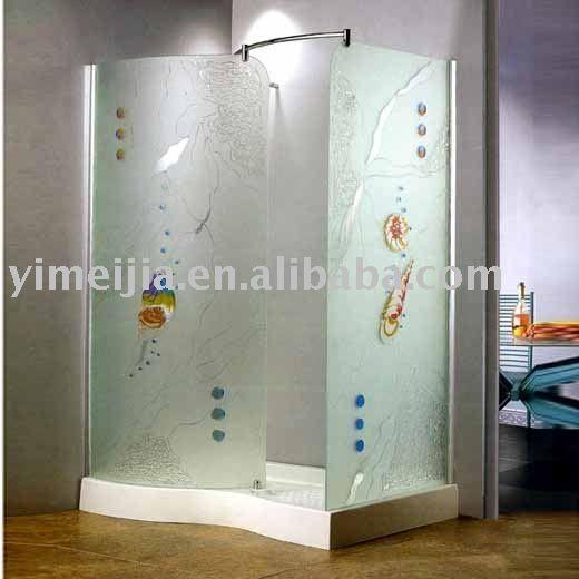 cabinas de baño con diseño esmerilado - Buscar con Google