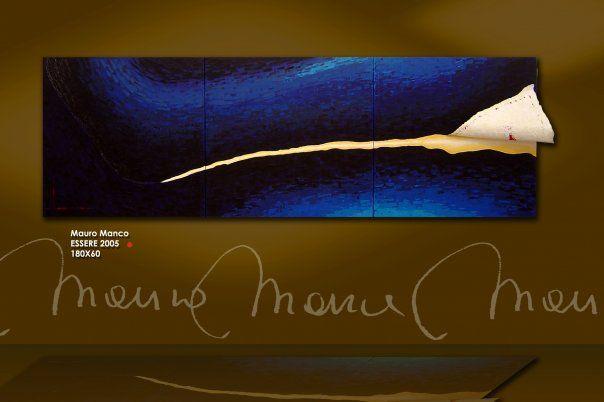"""Essere"" 2005 . cm:180x60"