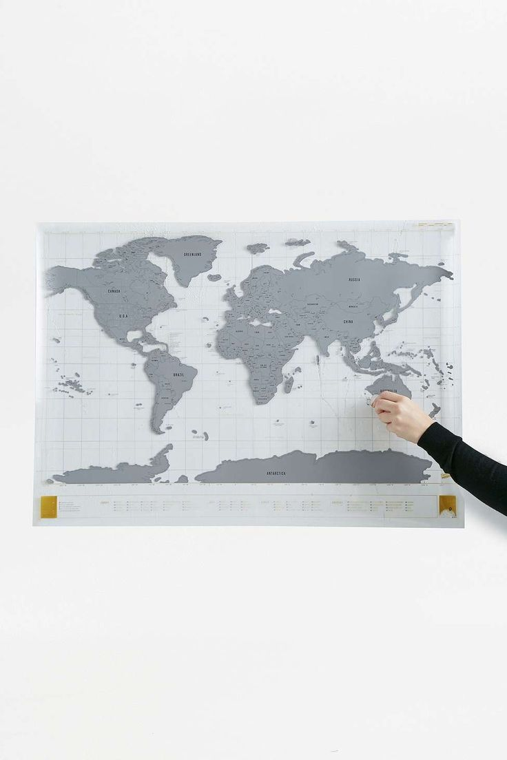 Clear Edition Scratch Map