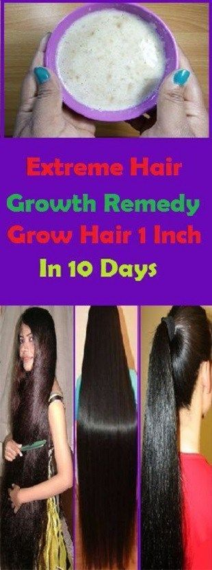 Extreme Hair Growth Remedy, Grow Hair 1 Inch In 10 Days