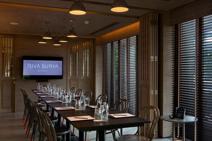 Meeting Room — at Riva Surya, Bangkok,Thailand.