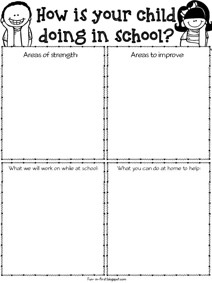 The  Best Preschool Evaluation Forms Ideas On