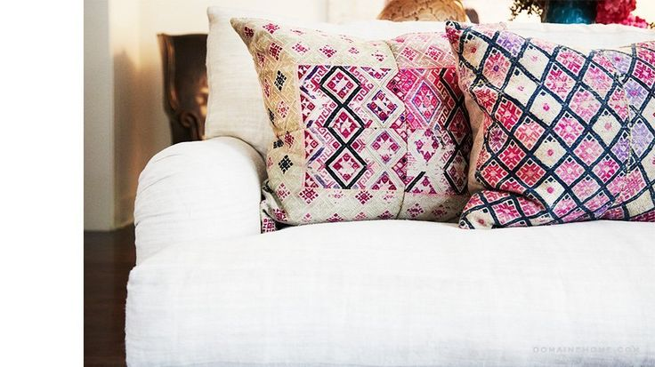 Loving those Brenda Antin pillows, hers are always the best!!