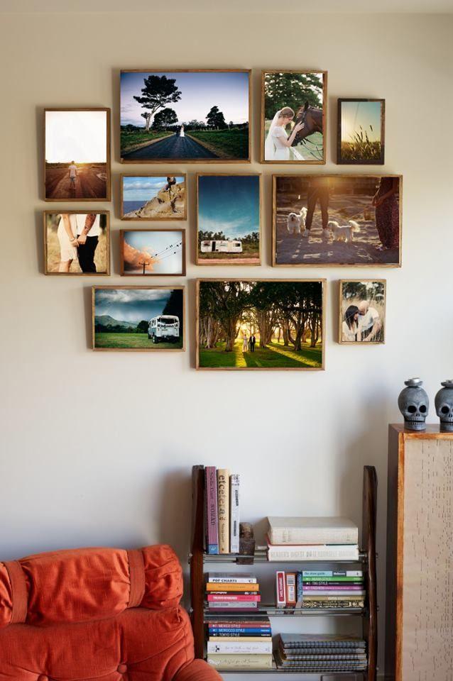 33 Photo wall layout