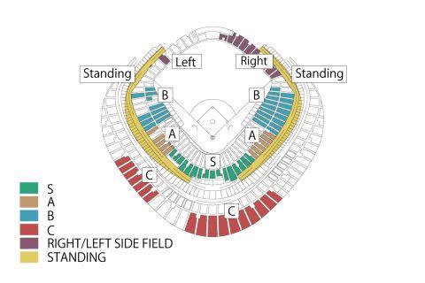 Yomiuri Tokyo Giants Schedule & Tickets Tokyo Dome Baseball - 0