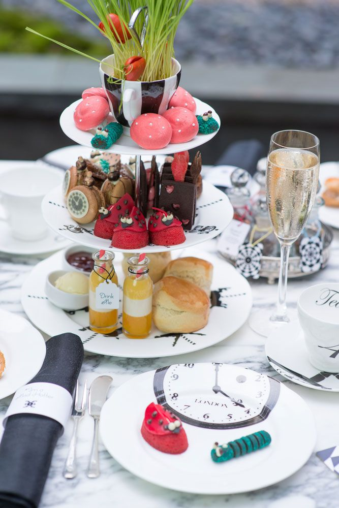 Best places for afternoon tea in london;               Sanderson ( 48 pond p. person, 2016)
