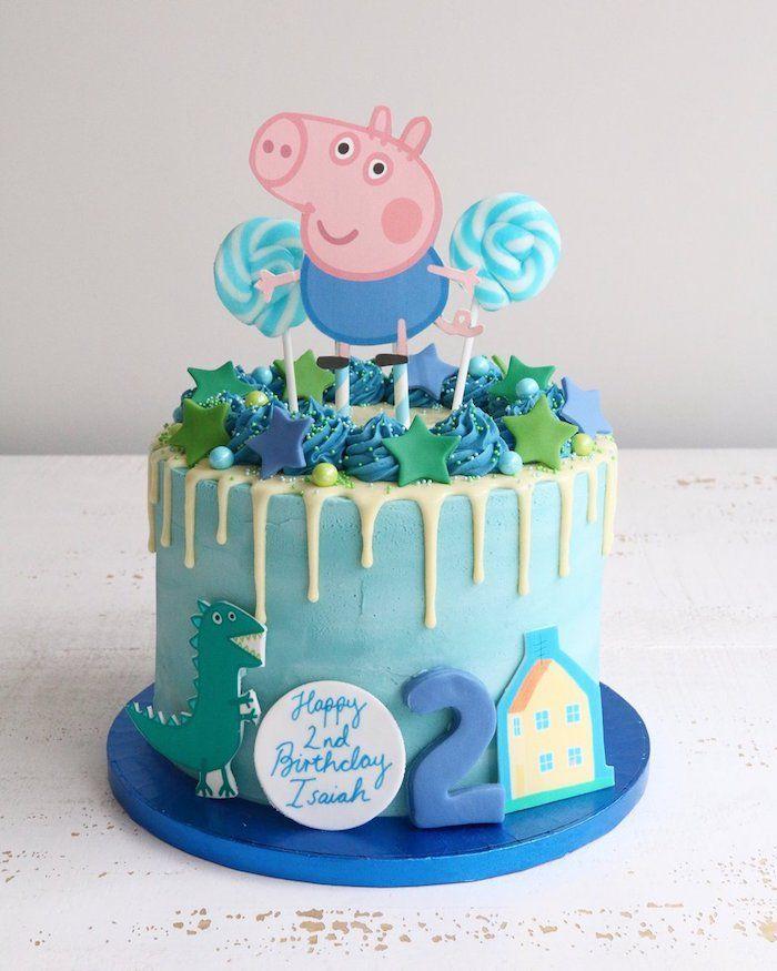 1001 Idees De Gateau Peppa Pig Comment Le Decorer Pour