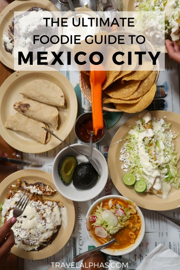 Want to know where to eat in Mexico city? Looking for the best Mexico City restaurants? This Mexico City foodie guide includes all of the best places to eat in Mexico City! From taco stands and markets, to fine-dining restaurants and casual eateries, these are the best restaurants to satisfy all of your foodie cravings! Tacos al pastor, chiles en nogada, chilaquiles, chicken with mole, and pan dulces are just a few of the dishes this guide covers.