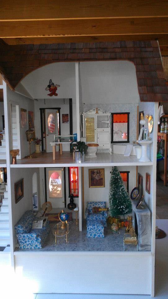 Super 7 best Duracraft Queen Anne dollhouse images on Pinterest | Queen  HH57