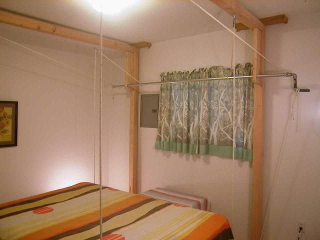 Hanging Bed Sleep Comfortably And Save Space For The