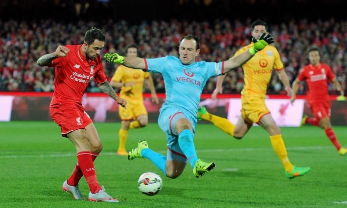 Adelaide United VS Liverpool in a special friendly game