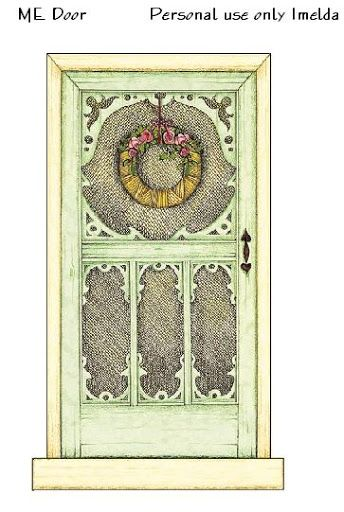 1000 Images About Dolls House Printables Doors Amp Windows
