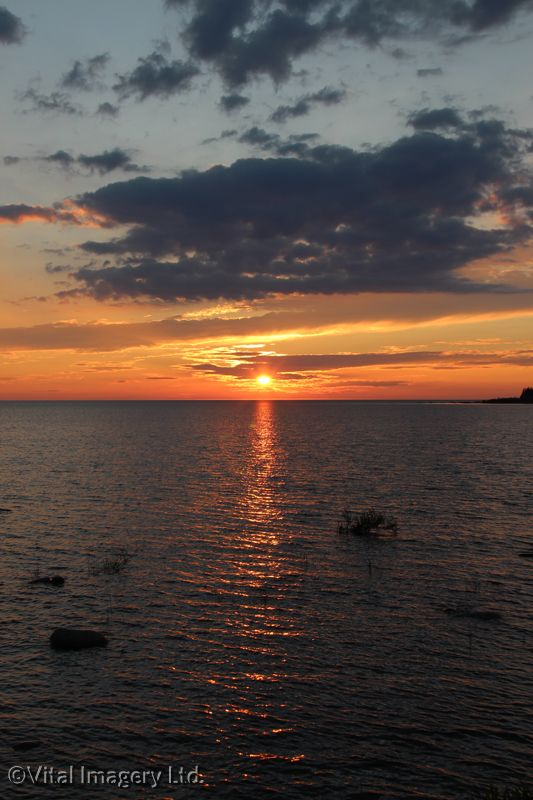 Another beautiful sunset at Inverhuron Provincial Park!