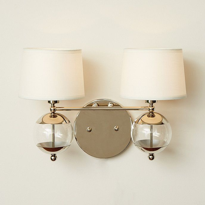 Wesley 2 Light Sconce Sconce Lighting Ballard Designs Lighting