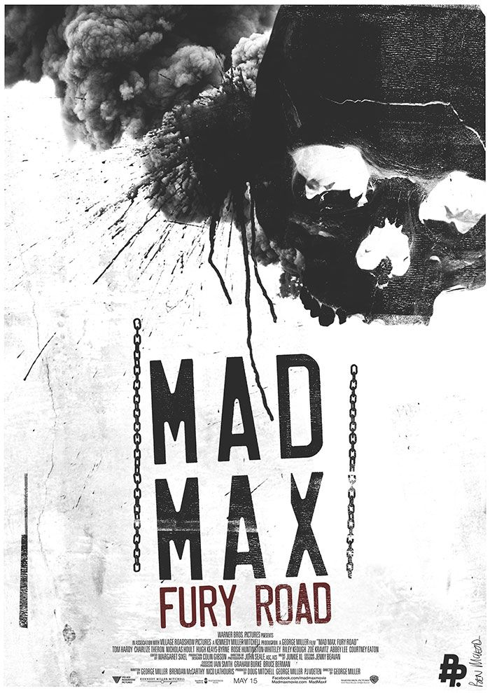 Mad max fury road 2015 · movie poster artfilm