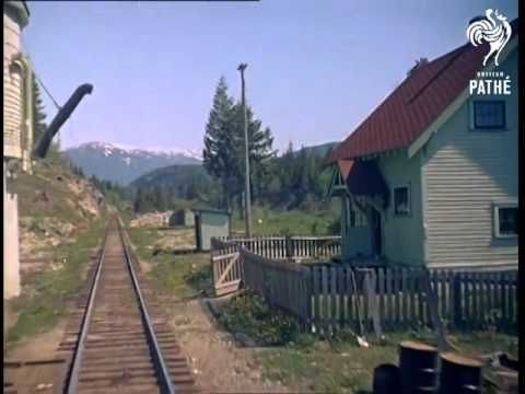 film of a Train Journey To Lillooet 1958