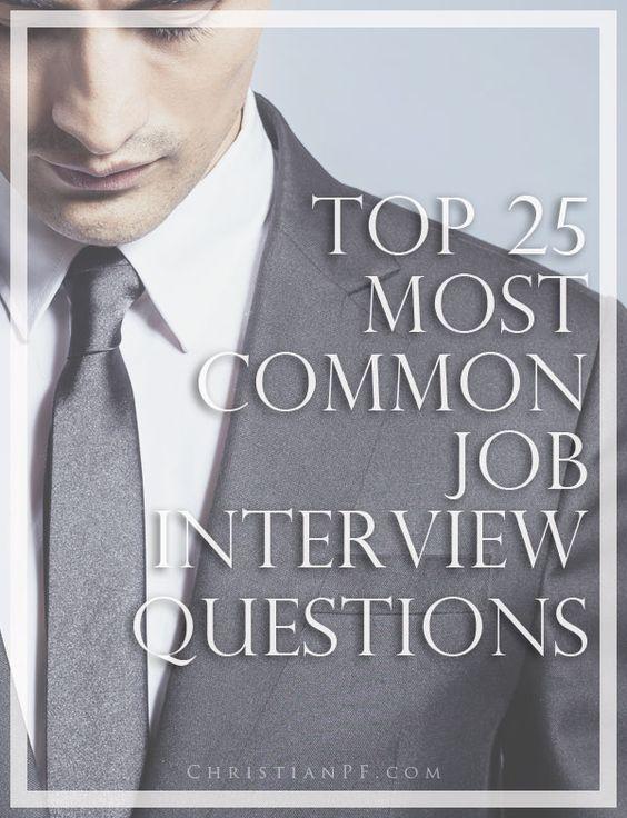 25+ unique Common job interview questions ideas on Pinterest - resume interview questions