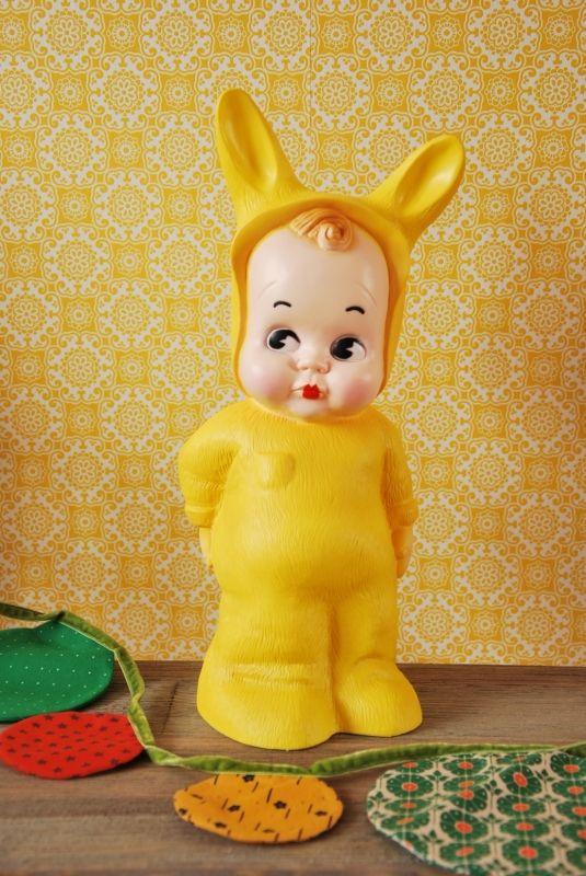 Lamp Lapin & me baby konijn geel   Verlichting   HippeKidsKamer