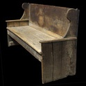primitive bench c.1780  Obsolete