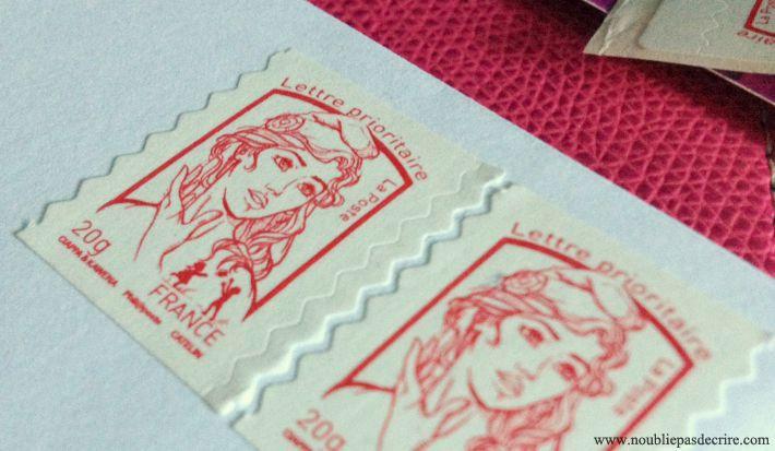 Augmentation prix du timbre en janvier 2016