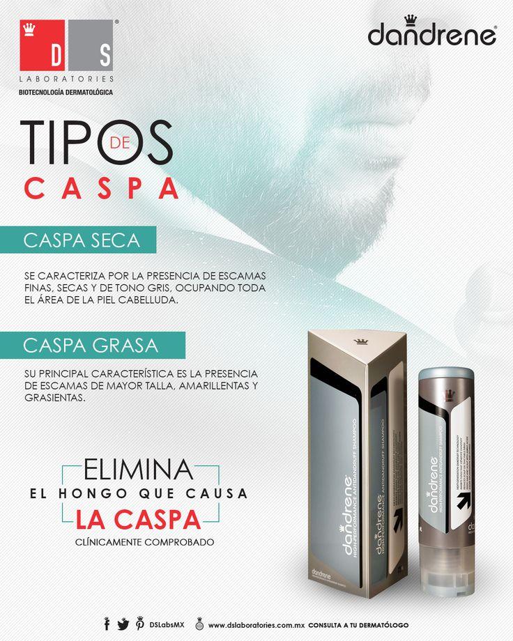Existen dos tipos de #caspa que pueden afectar a tu #cabello. Protégelo con #Dandrene.