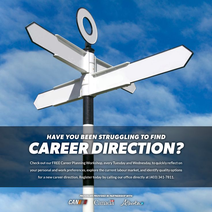 Check out our free CAREER PLANNING WORKSHOP (every Tuesday & Wednesday) that reflects on your personal and work preferences while identifying quality options for a new career direction!  Register today by calling our office directly at 403-341-7811  #careerplanning #changeyourcareer #rdcan