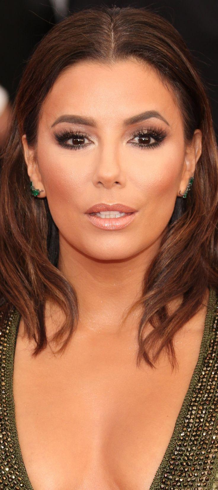 Eva Longoria Sag Awards 2016 Red Carpet Makeup Amp Hair