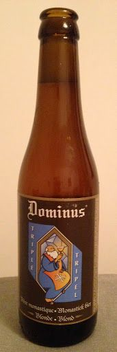 Dominus Triple, Brewed at De Koningshoeven Monastery, Bavaria, Netherlands - bought in Almaty, Kazakhstan