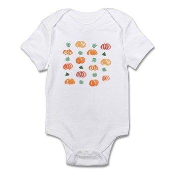 Infant Pumpkin Body Suit