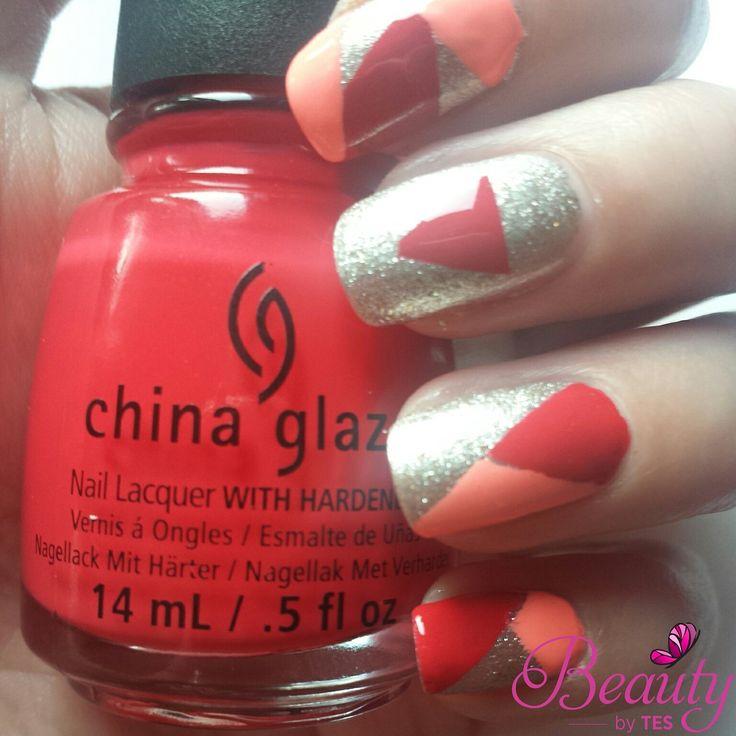 Geomatric nails 31DC2014