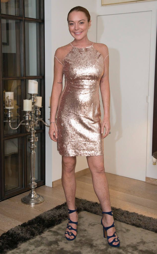 Lindsay Lohan from The Big Picture: Today's Hot Photos