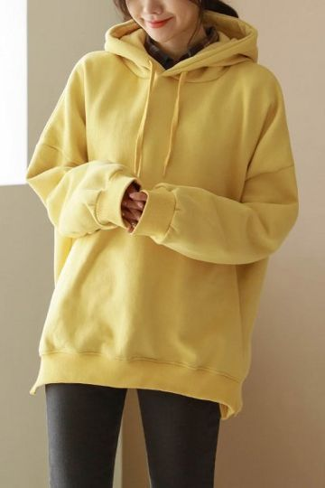 be302418 General Color Napping Hoodie | KOODING in 2019 | Fashion, Fleece ...