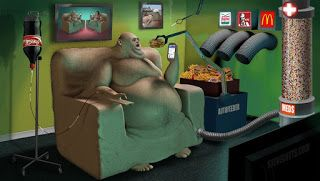 O poder da Arte:  The Power Of  Art !: Steve cutts: -o ilustrador da vida moderna