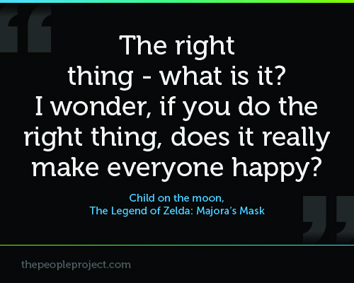 Zelda Friendship Quotes : Best mask quotes on true colors