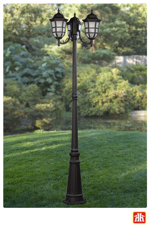 This Light Post Adds An Elegance To Your Laneway