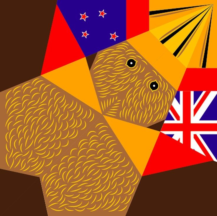 Amazon   KIWI ORIGAMI MEMO - キウィ折り紙メモ(4色12枚入18cm大型)ニュージーランド   おりがみ   文房具・オフィス用品