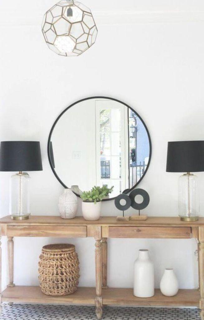 Round Black Mirror Entryway Best Entryway Mirror Decor Ideas Foyer Decorating Entryway Mirror Mirror Decor