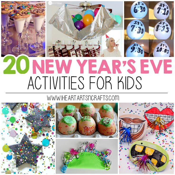 I love celebrating the end of the year with my family, so I've gathered 20 New Year's Eve Kid Friendly Crafts and Activities for those who celebrate with little ones like we do! 20 New Year's Eve Kids Crafts & Activites Click on the links below for instructions. 1.New Year's Eve Wishing Tree– From No …