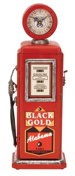 Awesome Vintage Gas Pump...but Look...Alabama even Refers to their Gas with a Name of Their Main Source of Income!