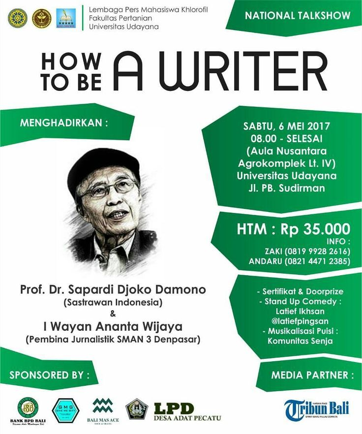 Buat para pecinta sastra ini acara asyik. Ngobrol bersama begawan sastra Indonesia Sapardi Djoko Damono.  Karena belum ada Hujan di Bulan Juni maka cukuplah dulu Obrolan di Bulan Mei. ;))