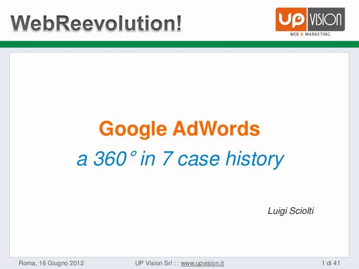 7 Case History AdWords
